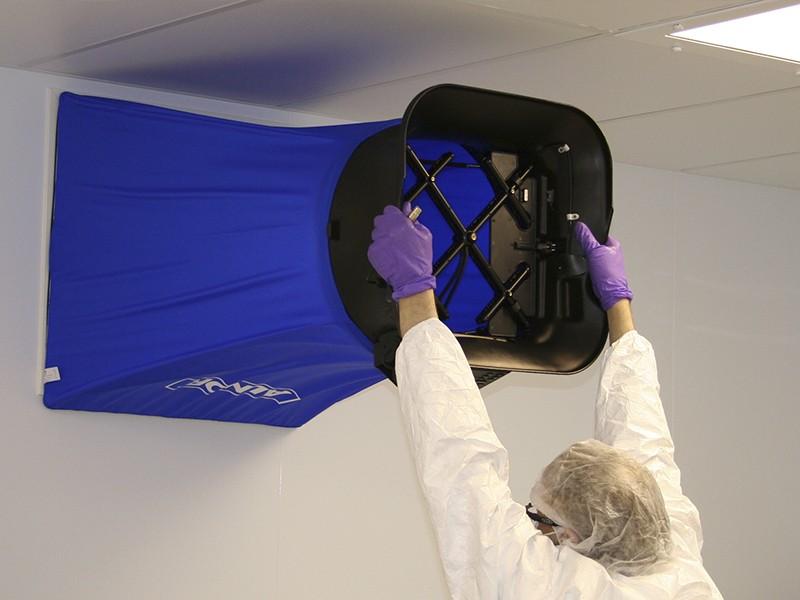 Certificação de cabine de segurança biológica
